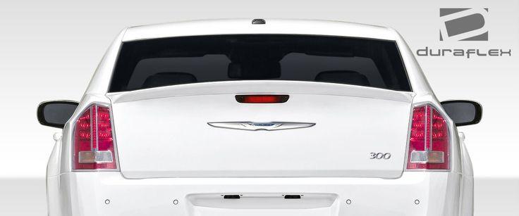 2011-2016 Chrysler 300 Duraflex SRT Look Rear Wing Trunk Lid Spoiler - 1 Piece