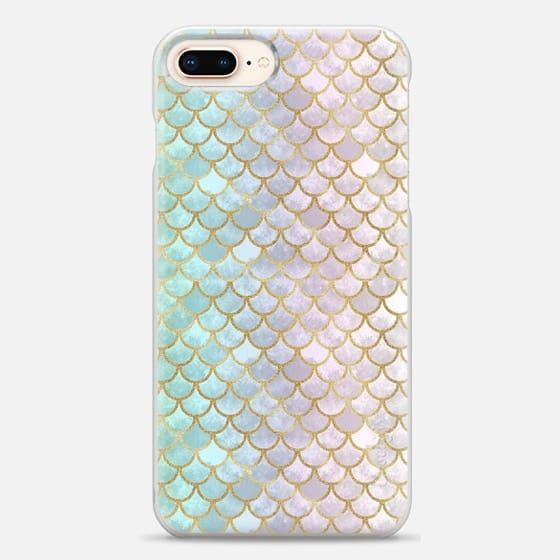 first rate 204ad a2307 Casetify iPhone 8 Plus Snap Case - Pretty Mermaid Scales 39 by Art ...