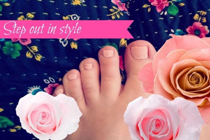Five steps to pretty summer feet...