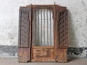 Hand Carved Antique Window Frame #antique #interior #vintage