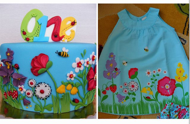 Summer flowers cake | Flickr - Photo Sharing!