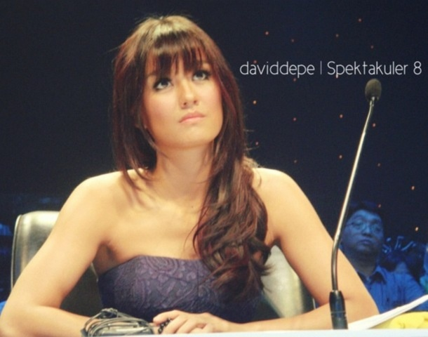 the world will know her soon. our pride, agnes monica. pretty? yeah. multi talented and religious. fashionable. of course adorable. xxx