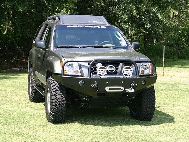 For Matt....Nissan Xterra Bull Bar Winch Bumper