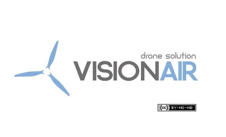 New logo VisionAir drone solution . Copyright @2015 Giancarlo Galante