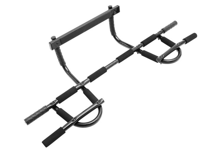 Home Doorway Pull Up Bar Upper Body Abs Gym Workout Exercise Fitness Strength #ProSource