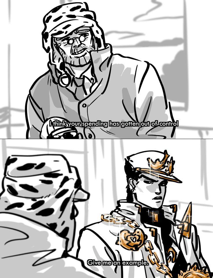 Jotaro's Bling