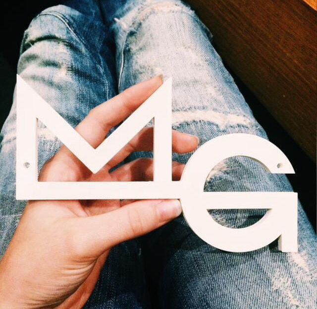 MG logo #3D