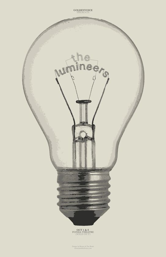 The Lumineers #poster