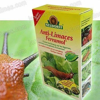 Granulés anti limaces, utilisables en agriculture biologique http://fr.jardins-animes.com/anti-limaces-ferramol-2kg-neudorff-agriculture-biologique-p-1135.html