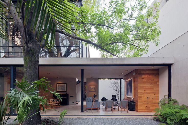 Gallery of Hill Studio House / CCA Centro de Colaboración Arquitectónica - 3
