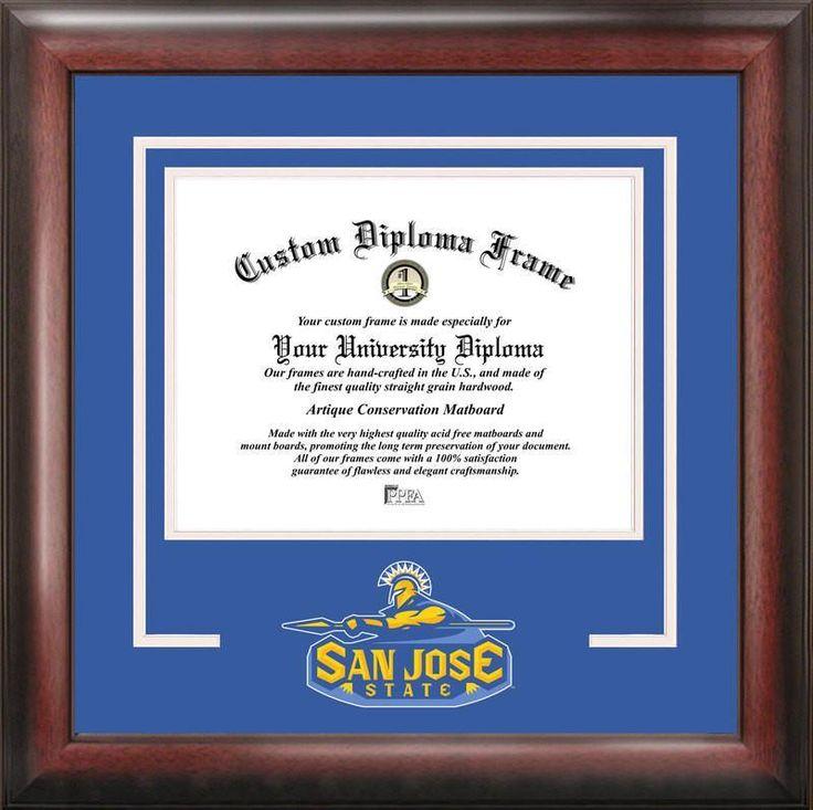 San Jose State University Spirit Diploma Frame
