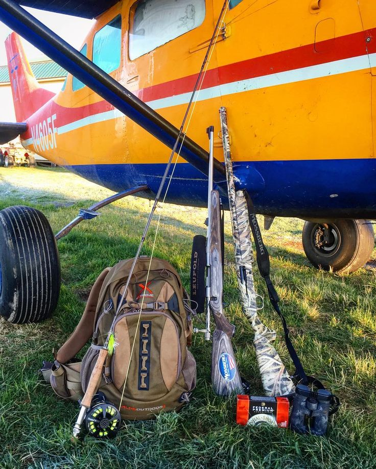 Come fly to outdoor adventure. Alaska hunting and fishing. Gets no better than this. #alaska #alaskaexpeditioncompany #bushplane #hunting #fishing #adventuretravel #alpspacks #Mossberg #cabelas #federalpremium #ronspomeroutdoors