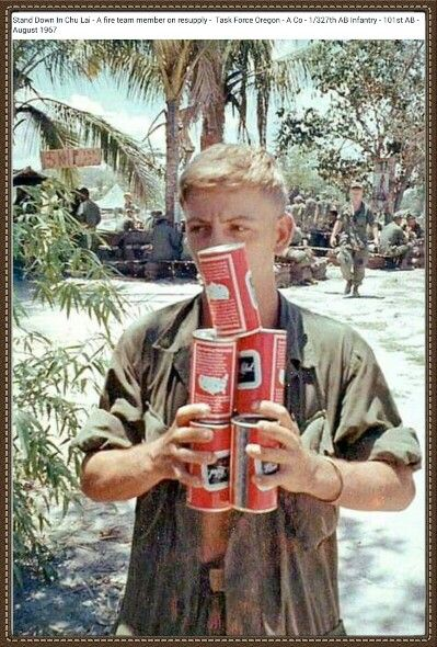 """Vietnam War * Beer Run, Carling Black Label """"Near Beer"""". They didn't want us to get fucked up over there, so the beer was watered down."""