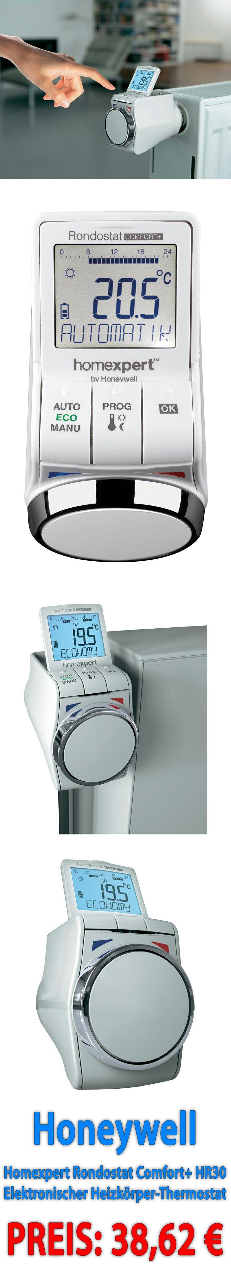 Honeywell   Homexpert Rondostat Comfort+ HR30 Elektronischer Heizkörper Thermostat.  Sparen Sie Bis Zu 30