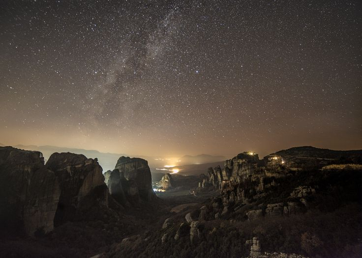 Galactic Meteora! by Constantine Emmanouilidi on 500px