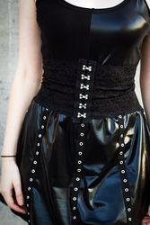Black Lace Corset Belt