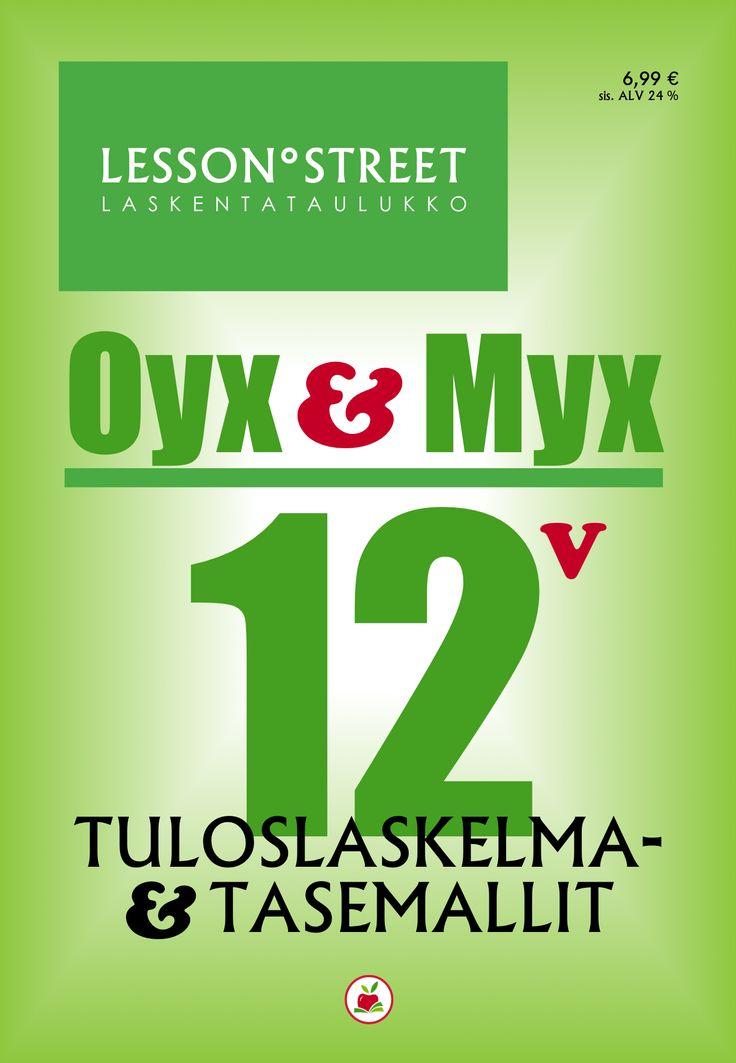 TULOSLASKELMA- & TASEMALLIT OYX & MYX 12   Laskentataulukkoja (XLSX)   Hinta 6,99 €   Tutustumisversiot 0 €