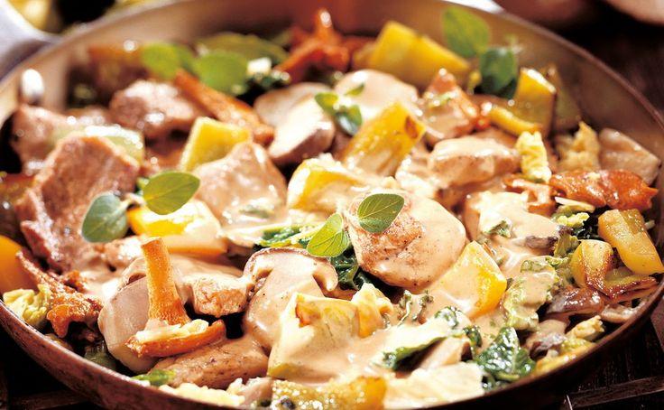 Von der Redaktion für Sie getestet: Saftfleisch mit Schwammerln und Gemüse. Gelingt immer! Zutaten, Tipps und Tricks
