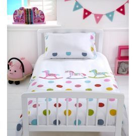 Baroo Cot Bed Duvet Cover Pillowcase Set Rocks Spots From Our
