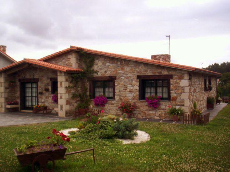 M s de 25 ideas incre bles sobre casas r sticas en for Fachadas de casas estilo rustico moderno