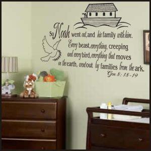 Best Scripture Images On Pinterest Vinyl Wall Quotes Bedroom - Bible verse nursery wall decals
