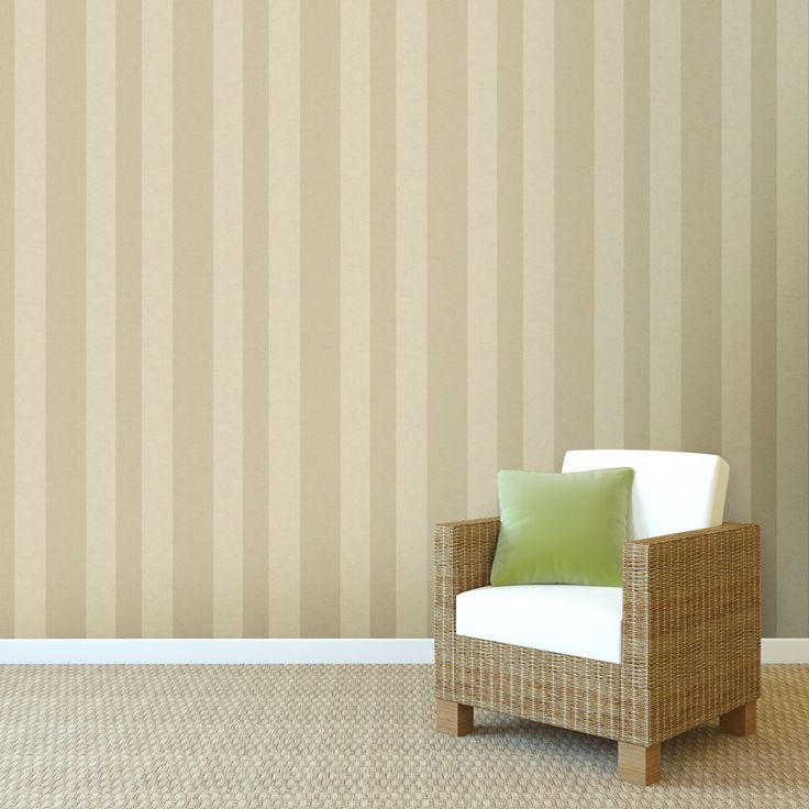 Wide Stripe Designer Wallpaper from Nilaya by Asian Paints