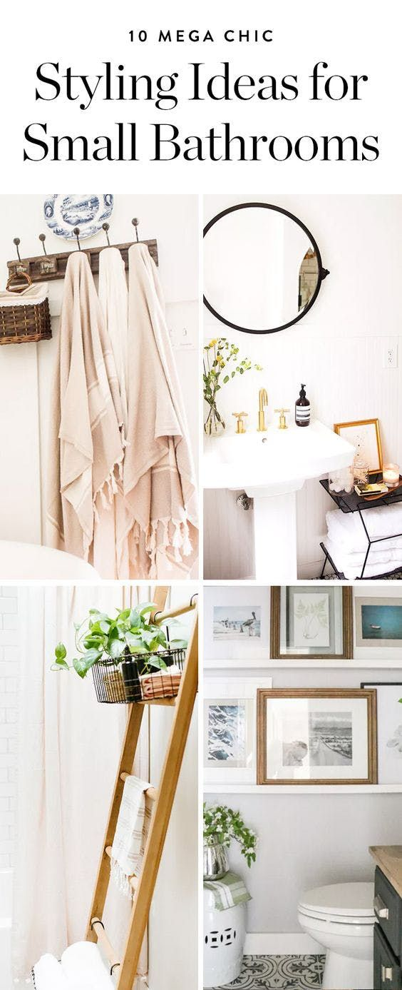 10 Mega Chic Styling Ideas For Small Bathrooms