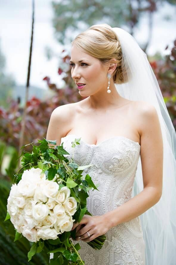 "Mariana Hardwick Real Bride - ""Angelline"" gown"