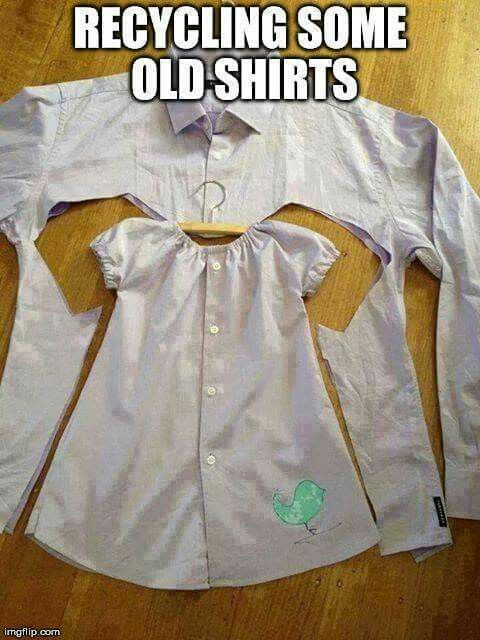 I'd love to make one of these for my baby girl from one of the few shirts left of my dad's...he died 13 years before she was born.