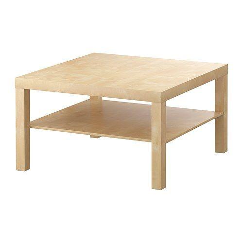 LACK Konferenčný stolík IKEA Oddelená polica na časopisy a pod.; spraví vám poriadok vo veciach a ušetrí miesto na stole.