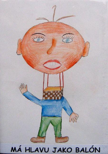 ILUSTRACE FRAZEOLOGISMŮ, 2005, Má hlavu jako balón
