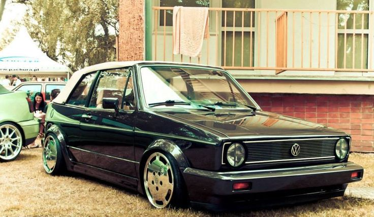 VW Golf mk1 Cabrio