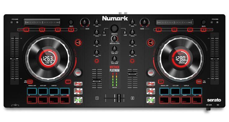 Numark Mixtrack Platinum Controller Launched