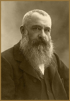 Claude Monet- was a founder of French impressionist painting, and the most consistent and prolific practitioner of the movement's philosophy of expressing one's perceptions before nature, especially as applied to plein-air landscape painting.