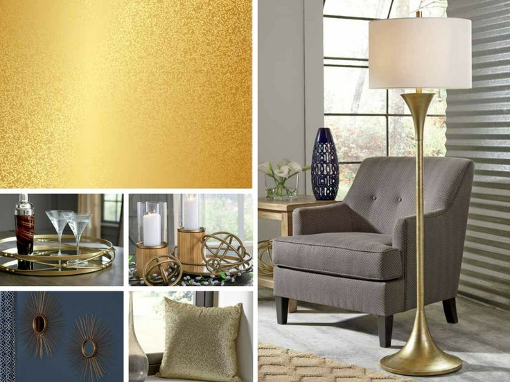 All That Glitters: Decorating with Gold