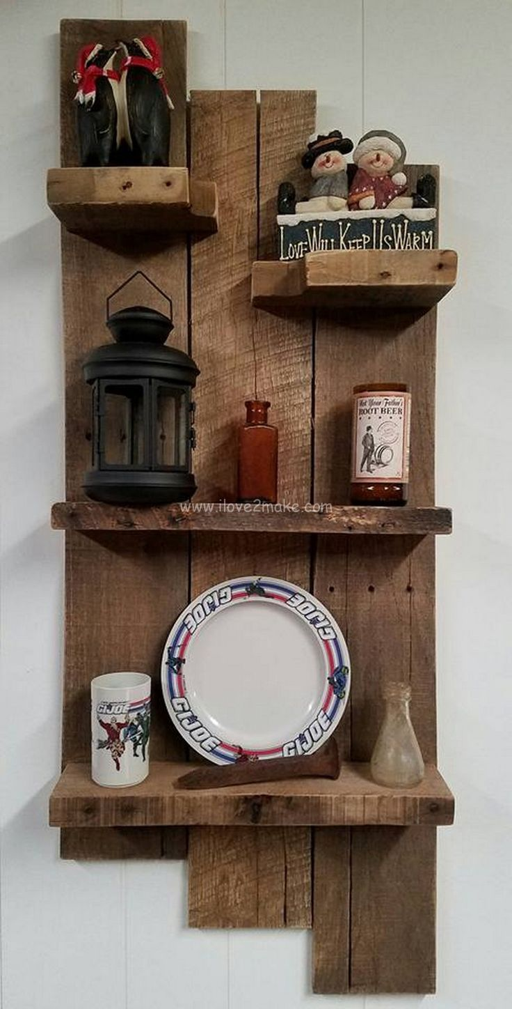 Shelves are a very important furniture item of a household. If you need a shelf for your house and you cant decide which one to get, then having a pallet wood made shelve is what you should go for. A pallet wood shelf has different slots to fulfill all kinds of needs and necessities of a household.