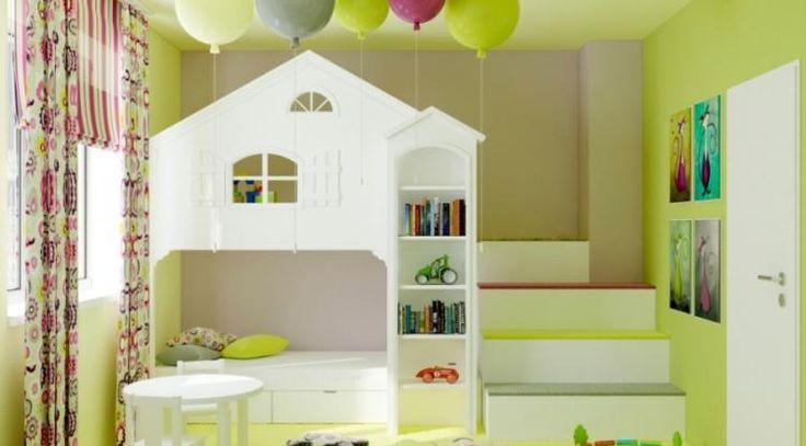 Detská izba s domčekom na hranie | Jasna Opavská | Inšpirácie | TRENDreality.sk