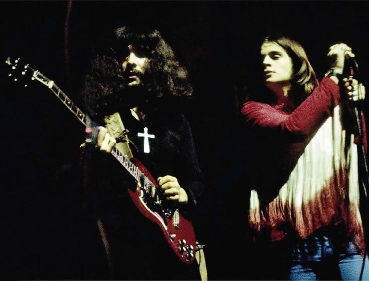 Tony Iommi & Ozzy Osbourne (Black Sabbath 1970)