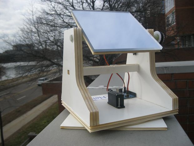 DIY solar tracker, providing maximum power to your SHTF stronghold