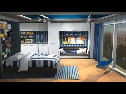 Micro Apartment Concept - Studio Presentation - City Tech - YouTube