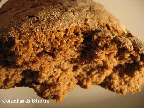 Receita de Pão de Centeio Puro 100%       muito bom!   O pão de centeio que geralmente é vendido sempre tem um pouco de farinha de trigo p...