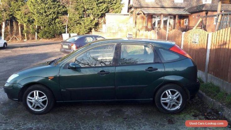 Ford Focus Zetec 1.6 Green #ford #zetec #forsale #unitedkingdom
