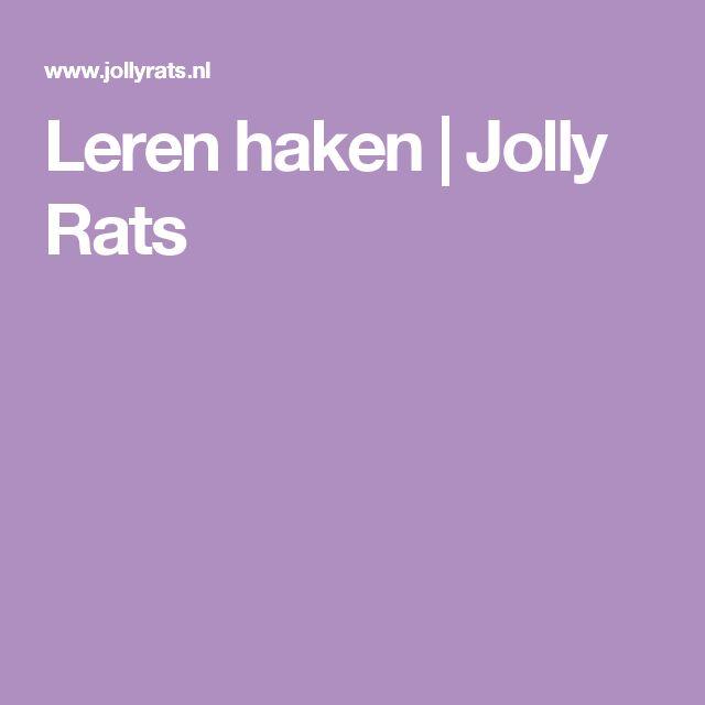 Leren haken | Jolly Rats