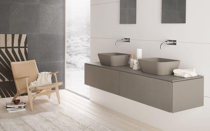 Wall-mounted furniture Neos by Luca Martorano: #furniture #consolle #interiordesign #marblefurniture #bathroom #wallmountedfurniture #bathroomfurniture #marble #milano