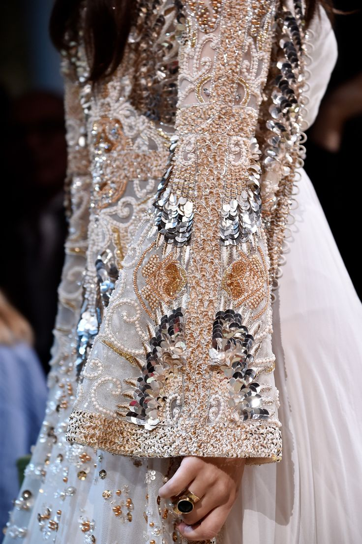 ELIE SAAB Haute Couture Autumn Winter 2017 - 18 | Details