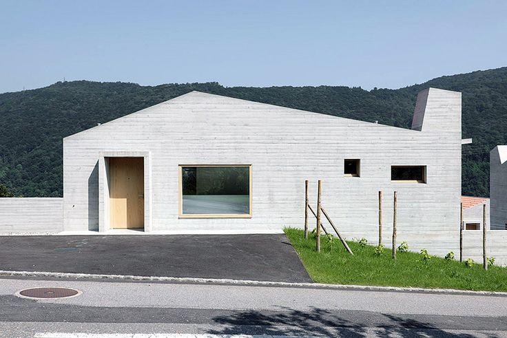 """subtilitas: """"Studio Meyer Piattini - 5 houses, Barbengo 2011. Photos © Paolo Rosselli. """""""