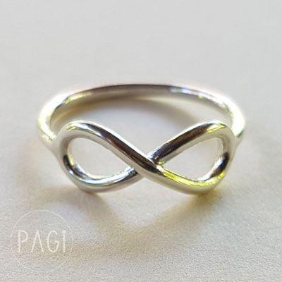 """Infinity Ring""  Made of 925 Sterling Silver. Simple and chic!!! #PAGi #pagi #pagijewelry #jewelrydesigner #jewelry #seminyak #kuta #canggu #reseller #stockist #silver #ubud #bali #indonesia #ringsilver #ring #fashionblogger #fashion #blogger #infinity"
