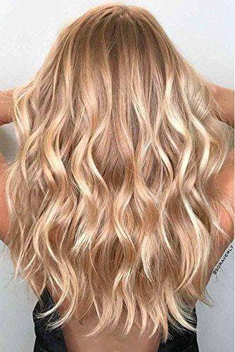 100g Echthaarspange In Extensions Remy Haarfarbe 6/27/60 Doppeleinschlagclip Haar