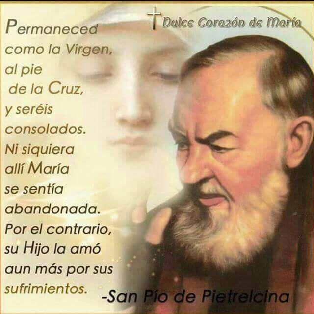 Jovenescristianos Padre Pio Oracion Frases De Padre Pio Y