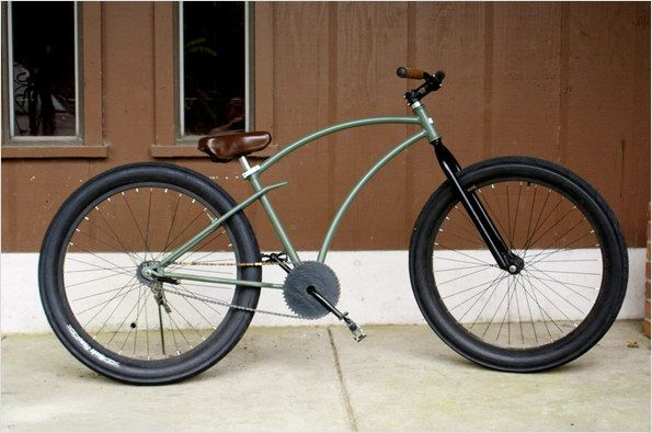 how to build a criuser style bicycle